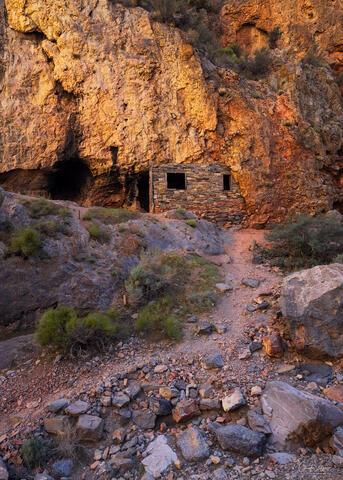 The Hermits Cabin near Millard County in Utah.