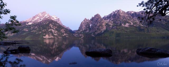 Grand Teton Reflection print