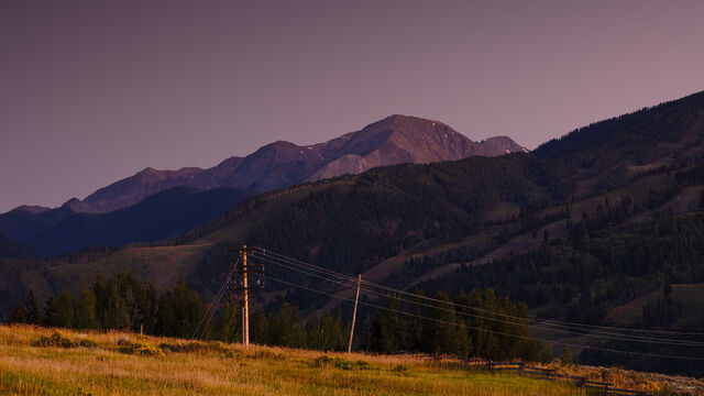 Hills Of Colorado print