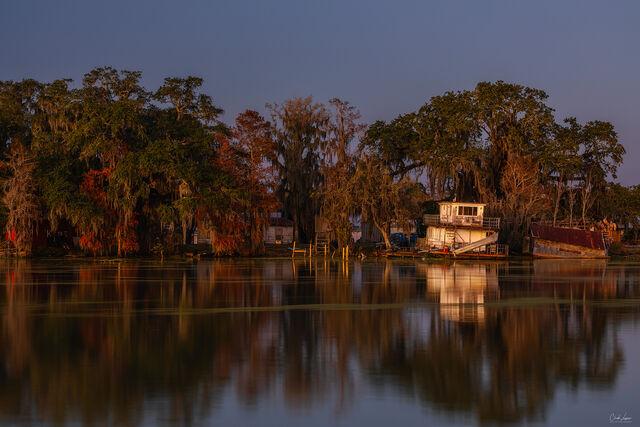 Swamp River print