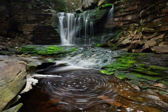 The Swirls print